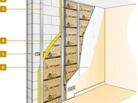photo Devis Isolation intérieure des murs