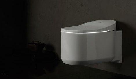 photo Devis toilette japonais suspendues