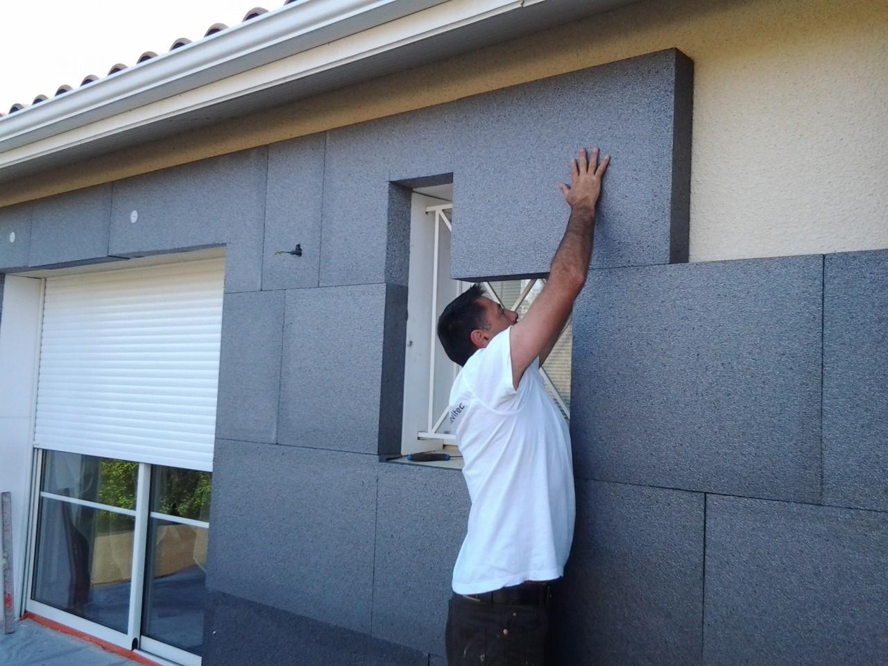 photo Devis Isolation des murs par l'extérieur ( ITE ) PSE