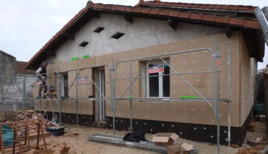 photo Devis Isolation des murs par l'extérieur ( ITE ) FIBRE DE BOIS